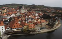 The beautiful city of Cesky Krumlov