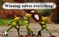 winning solves everything